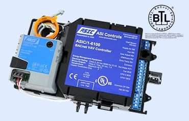 ASIC/1-6000 BACnet VAV controller