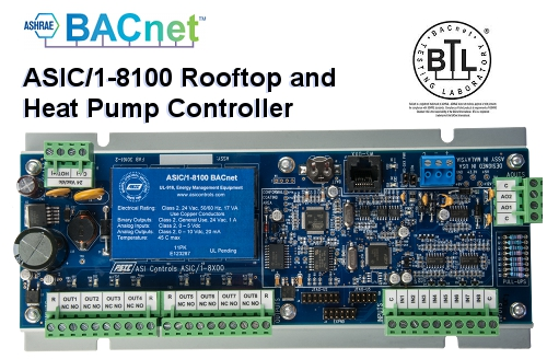BTL-ASC Rooftop and Heat Pump controller